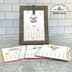 Doodlebug Design | 4x6 Desk Calendar