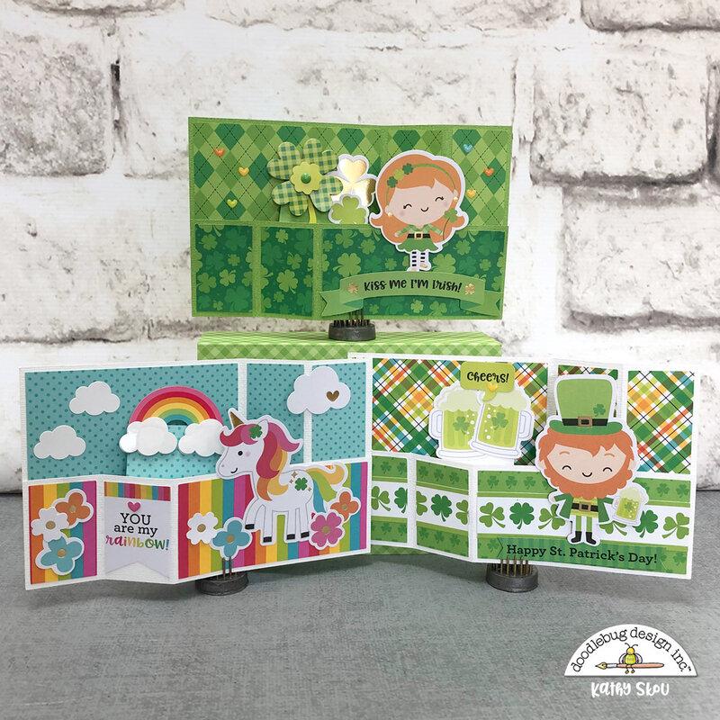 Doodlebug Design | Lots O' Luck Wiper Cards
