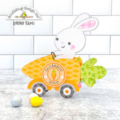 Doodlebug Design | Bunny Carrot Car Box Card