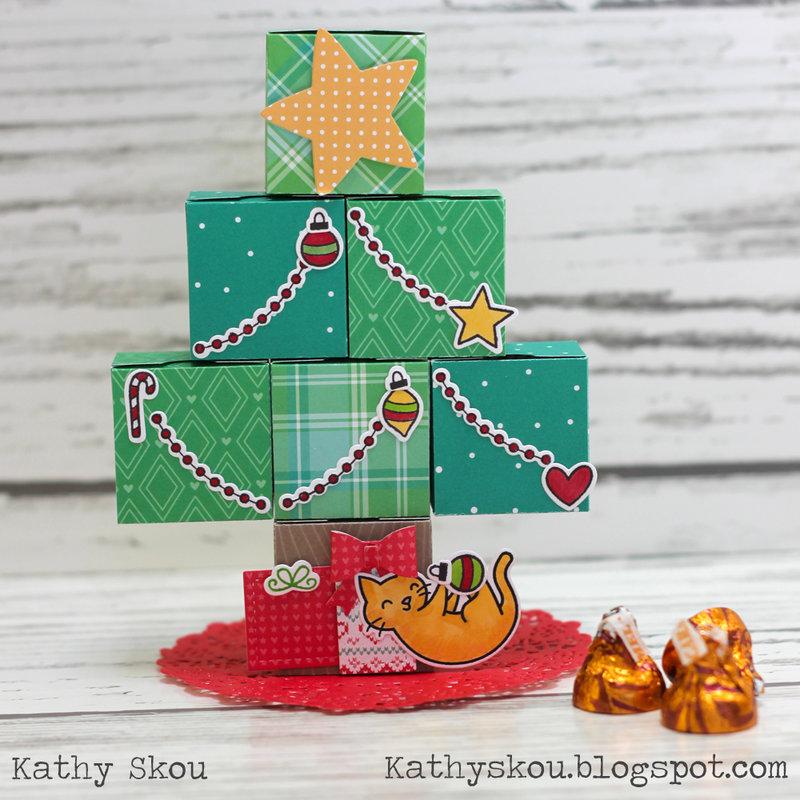 Treat Box Christmas Tree