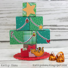 Treat Box Christmas Tree