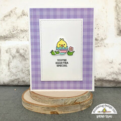 Doodlebug Design | Hoppy Easter Egg-stra Special Card