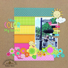 *** Doodlebug Design *** You Color My Word