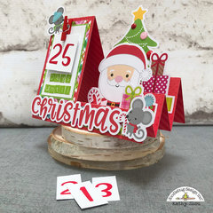 Doodlebug Design | Christmas Town Countdown Card