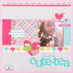 *** Doodlebug Design *** Such a Cute-Tea
