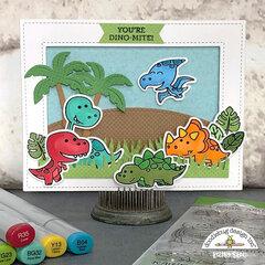 Doodlebug Design | Dino-mite! Card