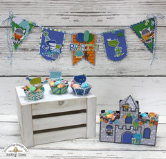 *** Doodlebug Design *** Dragon Tails Party Set