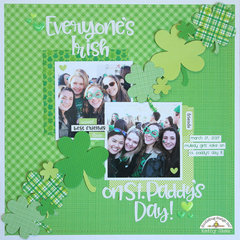 *Doodlebug Design*  Everyone's Irish on St. Paddy's Day