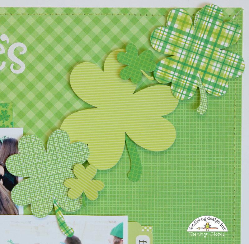 *Doodlebug Design*  Everyone's Irish on St. Paddy's Day