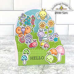 Doodlebug Design | Bugs and Kisses Box Card