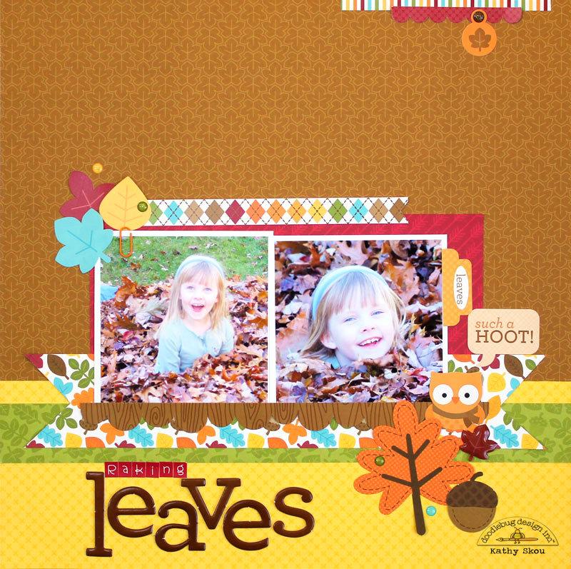 *** Doodlebug Design *** Raking Leaves