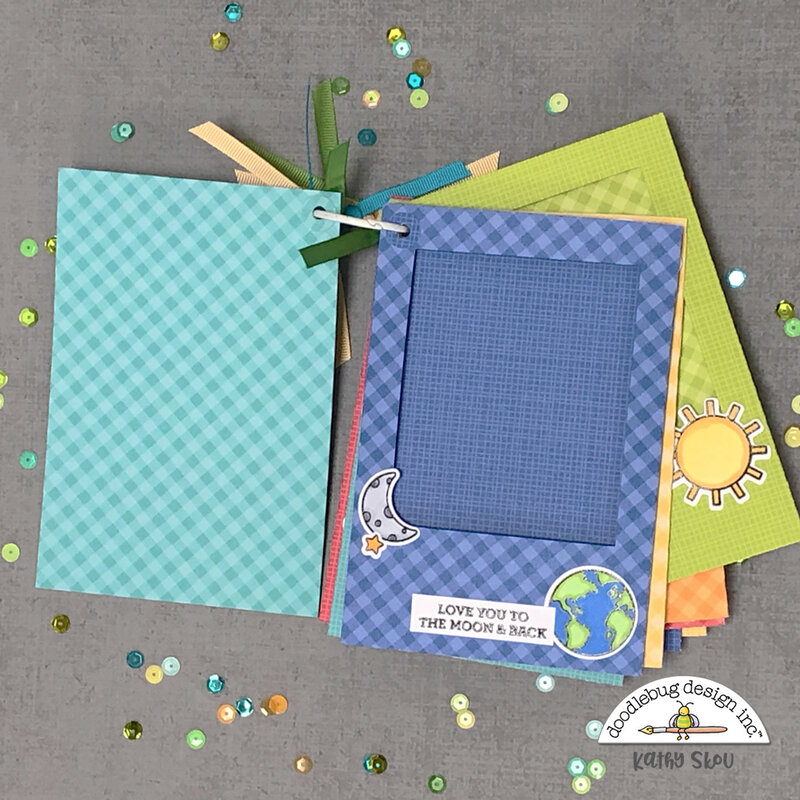 Doodlebug Design | Far Out Baby's First Year Album