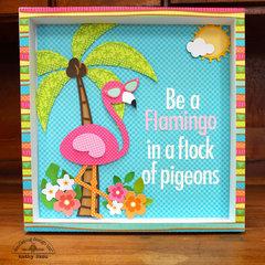 *** Doodlebug Design *** Be a Flamingo