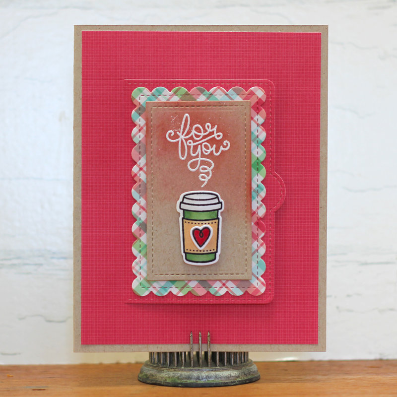 Lawn Fawnatics Guest DT Coffee Gift Card Holder