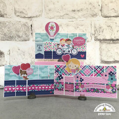 Doodlebug Design | French Kiss Wiper Cards