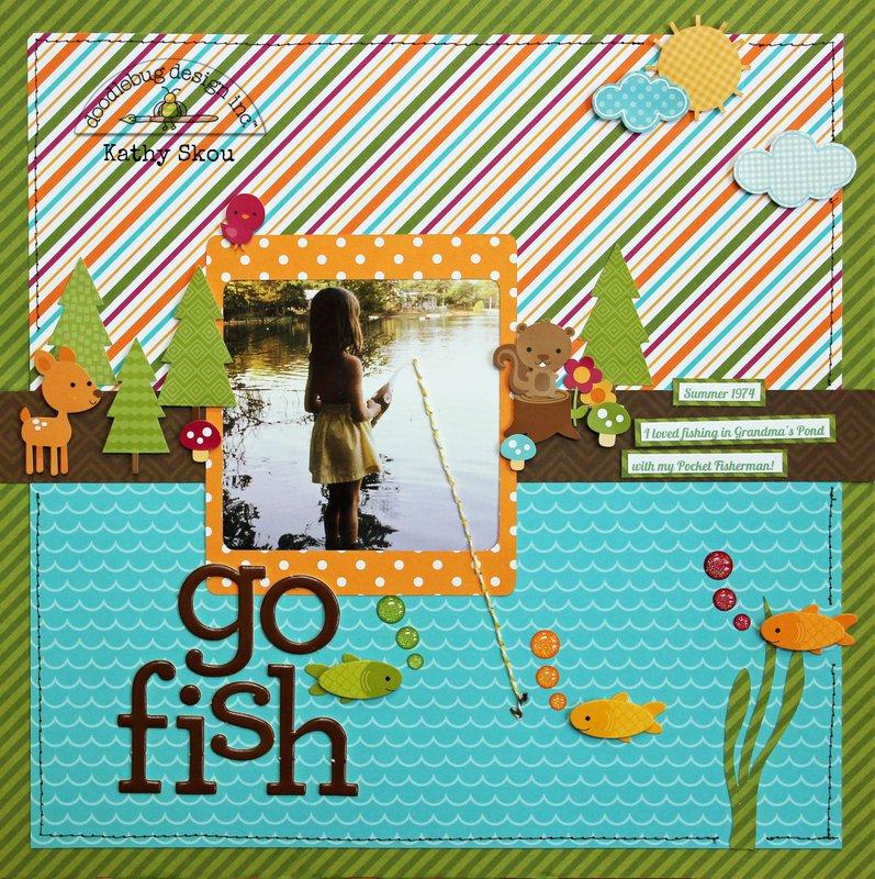 *** Doodlebug Design *** Go Fish