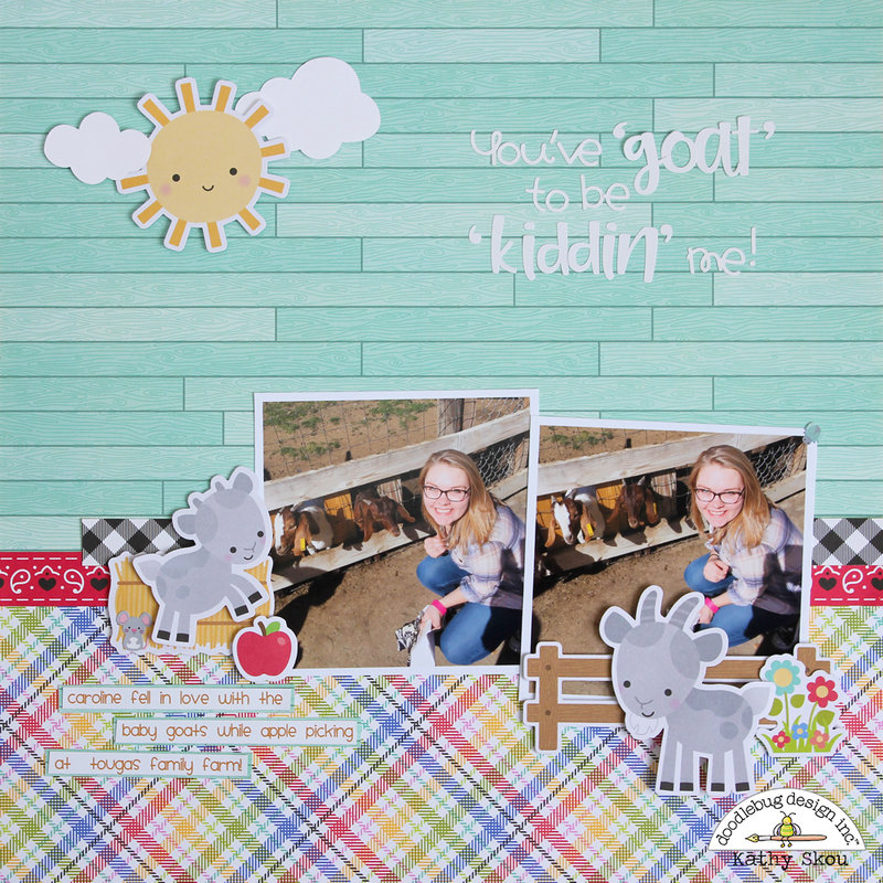 * Doodlebug Design * Down on the Farm Layout
