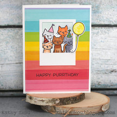 Happy Purrthday Lawn Fawn
