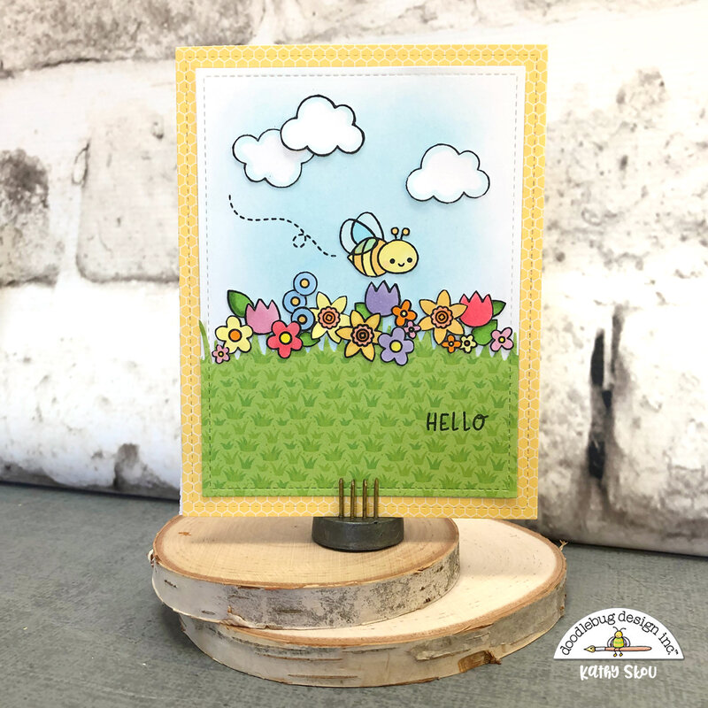 Doodlebug Design | Sweet Spring Card