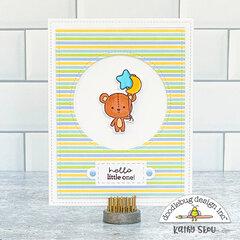 Doodlebug Design | Hello Little One Card