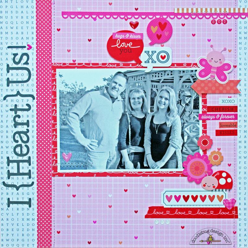 *** Doodlebug Design *** I {Heart} Us
