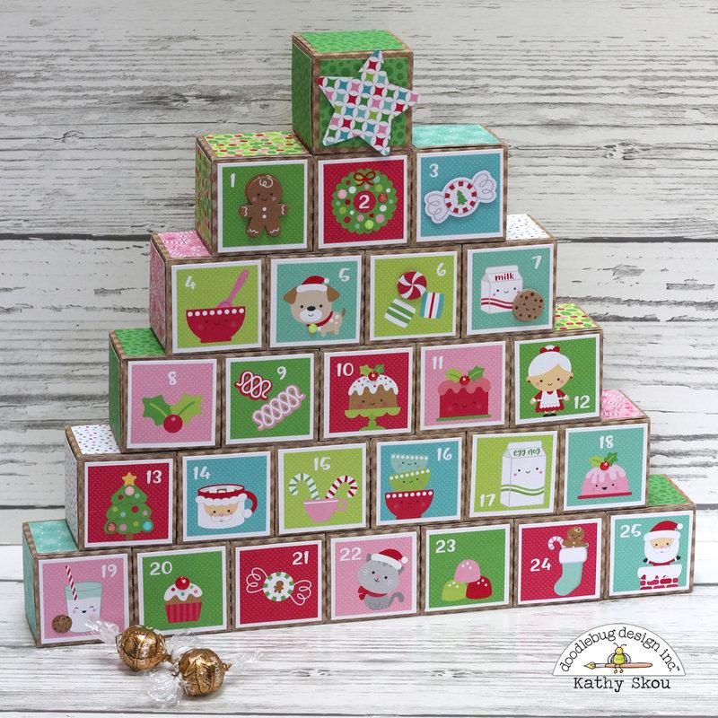 Doodlebug Design Milk & Cookies Advent Calendar