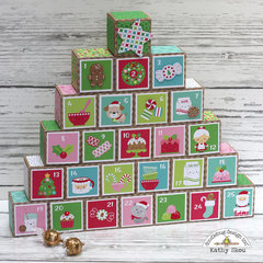 Doodlebug Design Milk & Cookies Advent Calendar