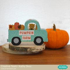 Fall Truck Box Card