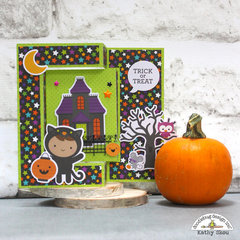 Doodlebug Design | Pumpkin Party Trick or Treat Card