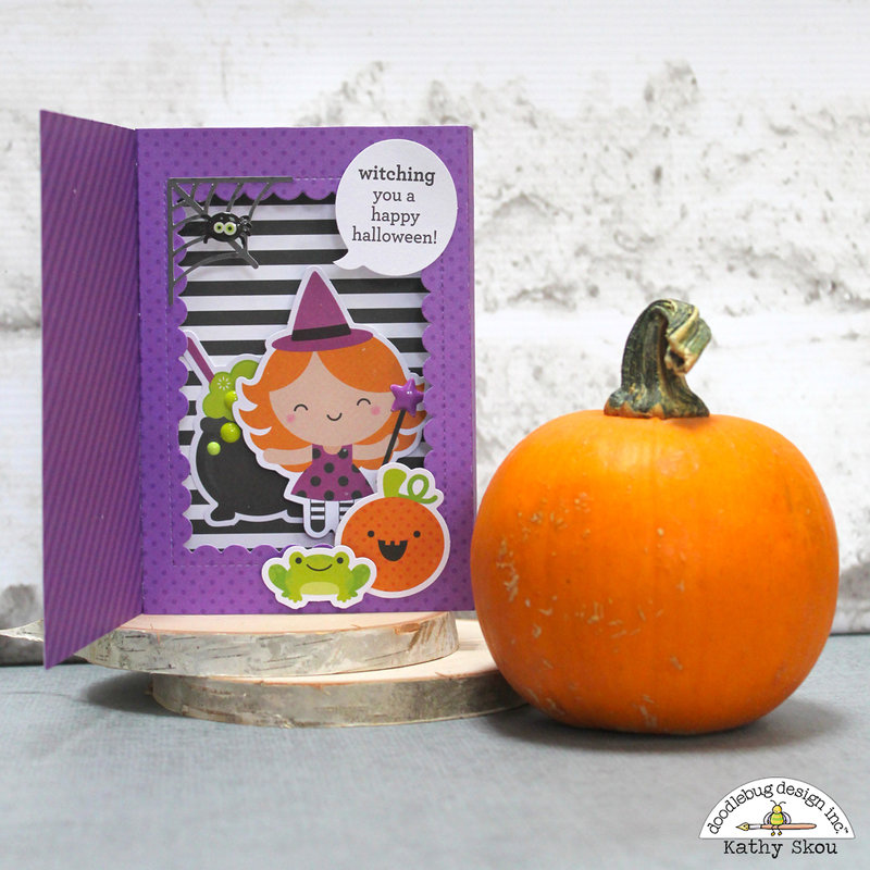 Doodlebug Design | Pumpkin Party Witching You a Happy Halloween