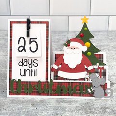 Lori Whitlock | Christmas Countdown Step Card