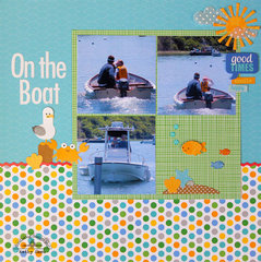 *** Doodlebug Design *** On the Boat