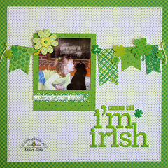 *** Doodlebug Design *** Kiss Me, I'm Irish