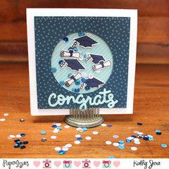 Congrats Grad Shaker Card