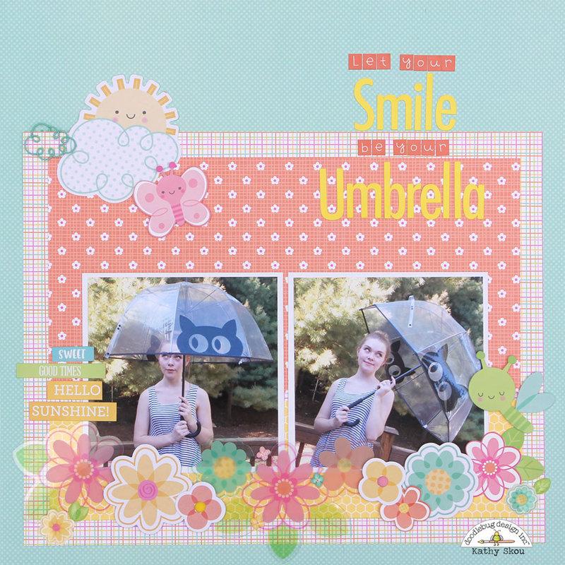 *** Doodlebug Design *** Let Your Smile Be Your Umbrella