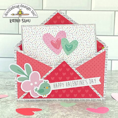 Doodlebug Design | Love Notes Box Card