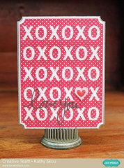 Lori Whitlock - xoxo Valentine Card