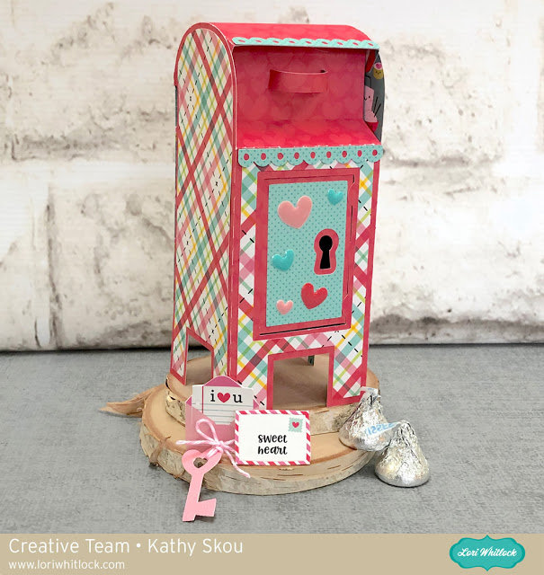 3D Valentine Mailbox for Lori Whitlock