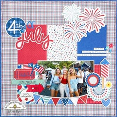 Doodlebug Design | Land that I Love Layout