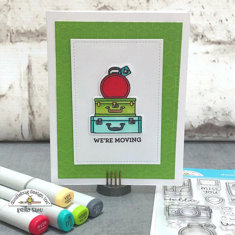 Doodlebug Design | I {heart} Travel We're Mving