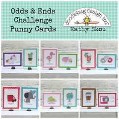 *** Doodlebug Design *** Odds and Ends Cards