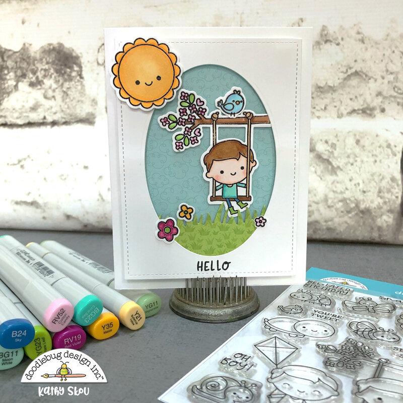 Doodlebug Design | Oh Boy Card