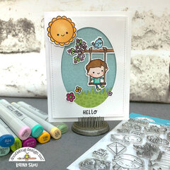 Doodlebug Design | Oh Boy Card