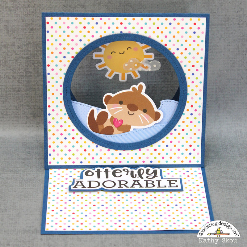 Doodlebug Design:  So Much Pun Otterly Adorable
