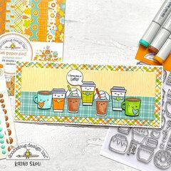 Doodlebug Design | Pumpkin Spice Slimline Card