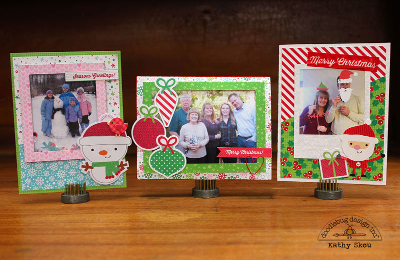 *** Doodlebug Design *** Christmas Photo Cards