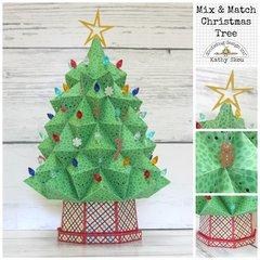Doodlebug Design:  Light Up Christmas Tree