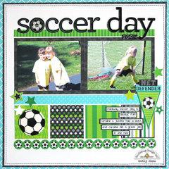 *** Doodlebug Design *** Soccer Day