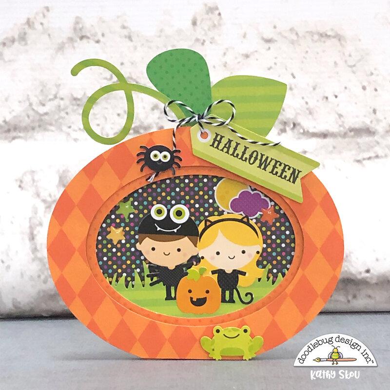 Doodlebug Design | Candy Carnival Pop Dot Card