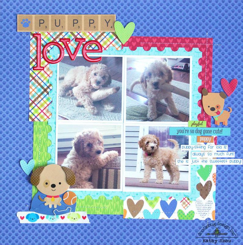 *** Doodlebug Design *** Puppy Love